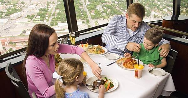 Gerer les enfants dans le restaurant